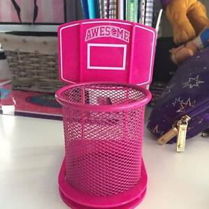 Awesome Pink Basketball Stationary container Awesome Pink Basketb Hurstville Hurstville Area Preview