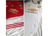 Brand new man Utd tops & kids kits (not iPhone iPad Xbox ps4 Audi Xmas)