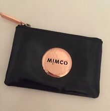 MIMCO POUCH / coin purse patent leather and rose gold Dianella Stirling Area Preview