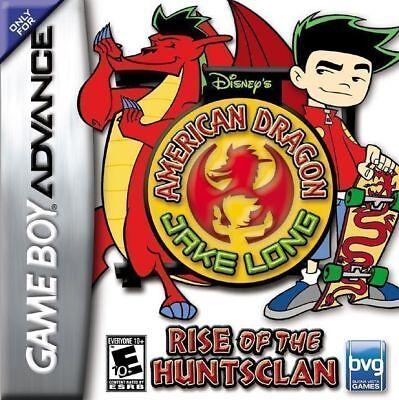 American Dragon Jake Long Rise of the Huntsclan GBA New Game Boy Advance