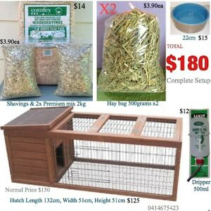 Rabbit Hutch Pack BRAND NEW IN BOX UNOPENED Guinea pig cage. Wentworthville Parramatta Area Preview