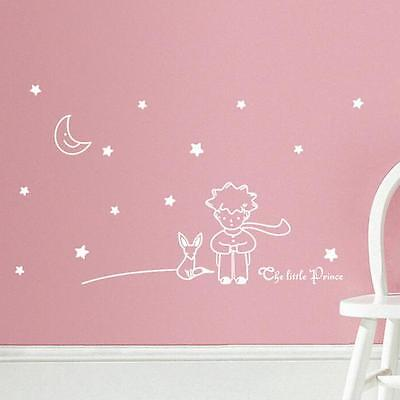 Stars Moon The Little Prince Boy Wall Sticker Home Decor Wall Decals