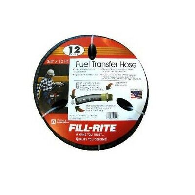 Tuthillfill-rite Frh07512 Fuel Transfer Hose 34-inch By 12-foot