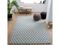 BRAND NEW La Redoute Fatouh Wool Kilim Rug 230 x 160 cm ALSO ANOTHER ONE