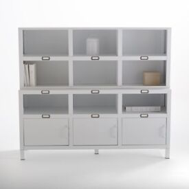 La Redoute matte white storage unit with shelving | RRP over £400