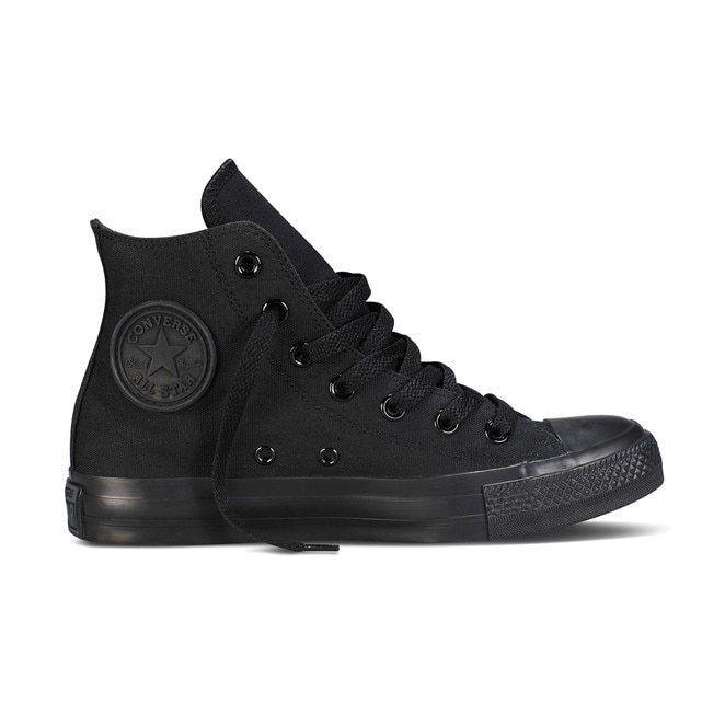 Converse Unisex Chuck Taylor All Star High Top Sneaker All Black M3310