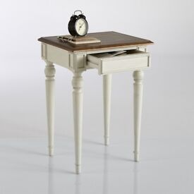 trianon bedside table with draw