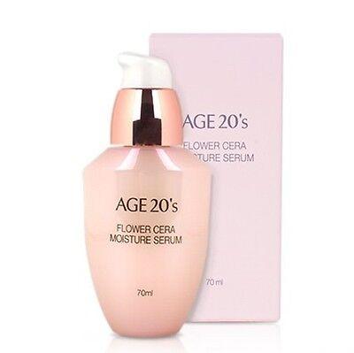 AGE 20s Flower Cera Moisture Serum 70 ml Whitening & Wrinkle Care Cheey Blossom