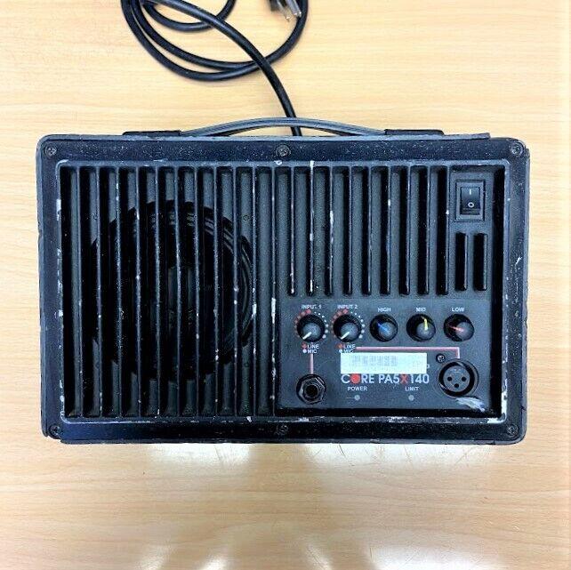 """Galaxy Audio Powered Core PA5X140 100 Watt PA System 5"""" Sp"""