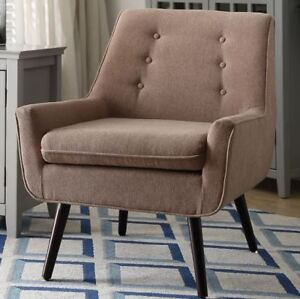 New Colette Mid Century Style Living room Arm Accent Chair