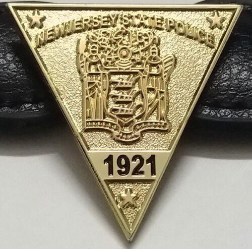 New Jersey State Police Mini Badge Mini Shield Lapel Pin NJSP NJ Collectible