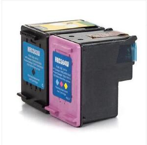 HP 61XL Black (CH563WN) and HP 61XL Tri-Color (CH564WN) Remanufactured Ink Cartridge Combo Pack