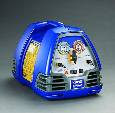 Ritchie Yellow Jacket 95760 Recoverxlt Refrigerant Recovery Machine