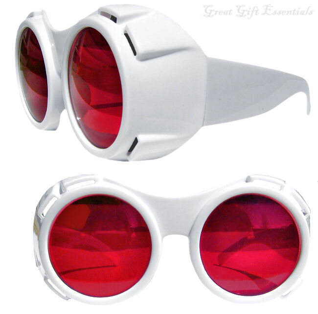 Willy Wonka TV ROOM Style GOGGLES GLASSES Chocolate Factory Hyper Vision Depp
