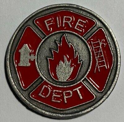 Firefighter Golf Accessories (New Firefighter Fire Rescue Prayer Coin Golf Ball)