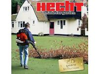 NEW HECHT Professional Back Pack Leaf blower 4.6 HP electronic power control air volume to 0.4 m3/ s