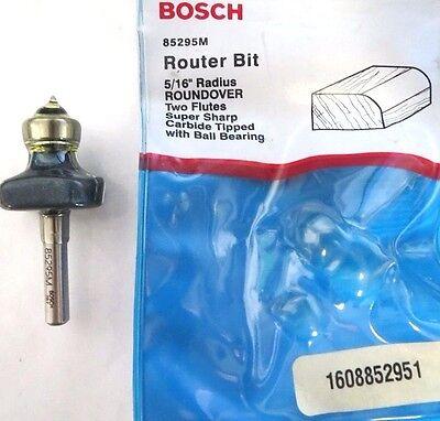 Bosch 85295M 37/64 Cutting Edge Length Roundover Bit