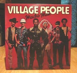 VILLAGE PEOPLE Vinyl Record Album 1978 MACHO MAN