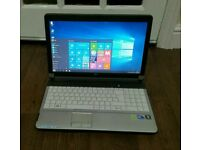 Fujitsu laptop. Core i3, 4gb ram, HDMI,Microsoft office, Windows 10