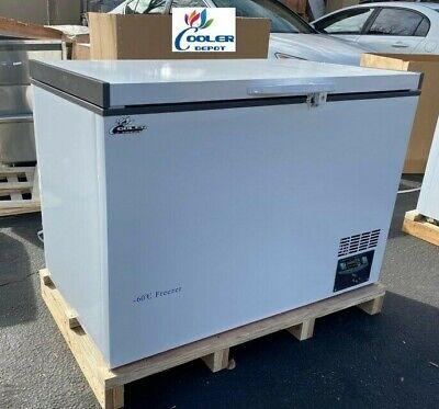 New -60c Medical Science Lab Deep Chest Freezer Low Temperature 288l 110v