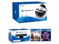PlayStation VR PlayStation VR Headset with PlayStation Camera, VR Worlds and Farpoint