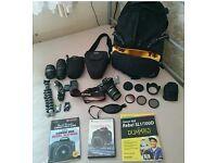 Canon proffesional camera bundle