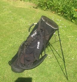 Ping Golf dual strap stand bag, excellent condition £25