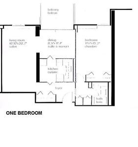 One bedroom lease takeover