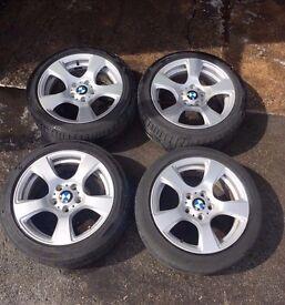 Bmw Alloy wheels - e93 SE alloys with Bridgestone runflat tyres