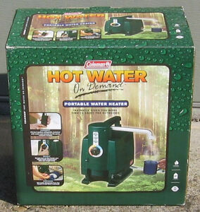 New Coleman Hot Water On Demand Portable Camping Water