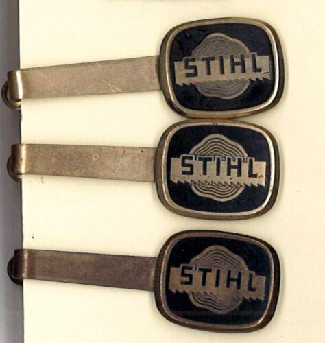 STIHL Chainsaw Copper Enameled Tie Clip, circa 1970s, HARD to FIND!
