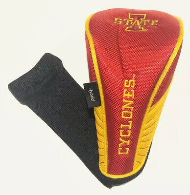 *Iowa State Cyclone Universal Hybrid Headcover, 9.9/10 condition, FREE SHIP! Collegiate Hybrid Headcovers