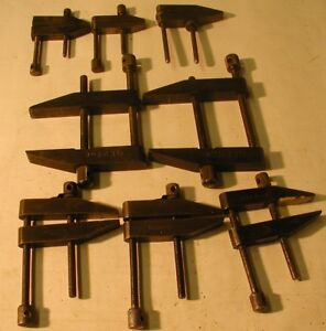 Starrett Machinist Parallel Clamps and Hand Vice