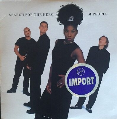 M People Search For A Hero Single Rare Virgin Import