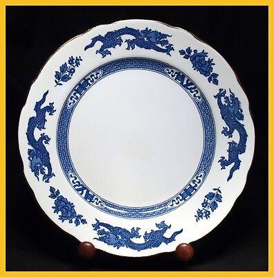 Royal Cauldon Blue Dragon 9 1/2 Inch Luncheon / Salad Plates