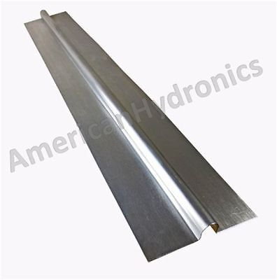 100 2ft Aluminum Radiant Heat Transfer Plates For 12 Pex Tubing Made In Usa