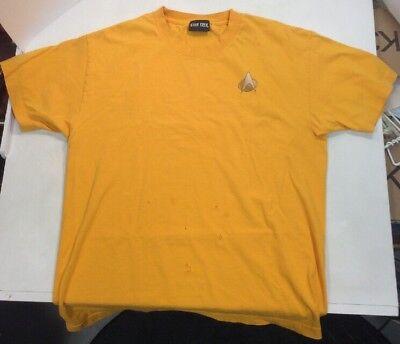Star Trek Commander Large Cotton T Shirt Cbs Studios 2013 Preownedtshirts Com