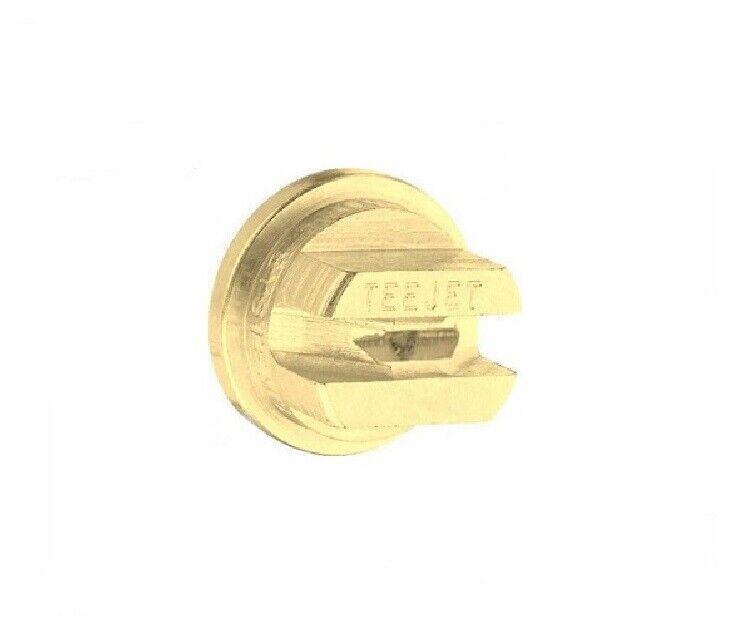 TeeJet Brass Spray Tips 110° Rated 0.20 GPM @ 40 PSI TP11002 Farmer Bob