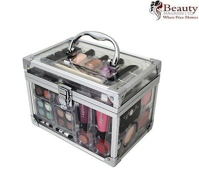 43 PIECE VANITY CASE BEAUTY COSMETIC SET GIFT MAKE UP STORAGE BOX