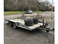 Tilt transport/recovery trailer