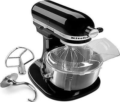 KitchenAid HEAVY DUTY pro 500 Stand Mixer Lift rksm500psob Metal 5-qt Black