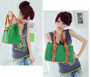 Lady-Girl-Fashion-Cute-canvas-leisure-shoulder-bag-handbag-satchel-Hobo-bag