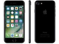iPHONE 7 128GB, JET BLACK, SHOP RECEIPT & WARRANTY
