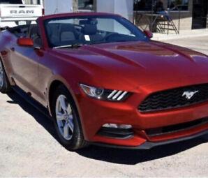 2017 Ford Mustang V6 convertible 28000$
