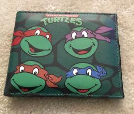 Teenage mutant ninja turtles wallet retro