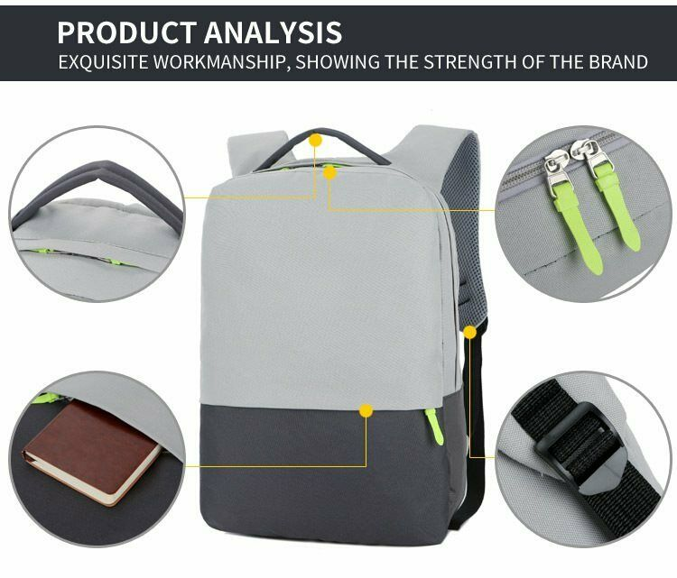 Xiaomi Mens Womens Waterproof Backpack Laptop Notebook Trave