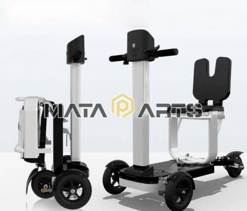 TLF Foldable Electric Tricycle Scooter Three wheel adult sui
