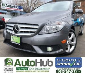 2014 Mercedes-Benz B-Class BACKUP CAM-PANORAMIC ROOF-LEATHER-PAD