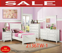 children twin bedroom sets, 2136TW-1