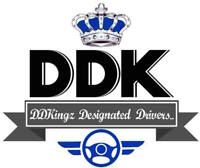 Looking for Designated Drivers-DDKingz Durham